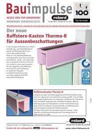 1110911 Bauimpulse Thermo-R.indd - Rekord Holzmann
