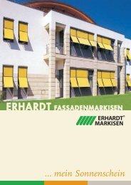 senkrecht- und fenster-markise - Erhardt Markisen