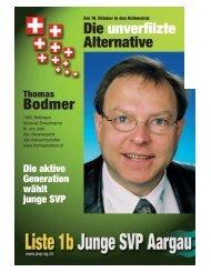 Die unverfilzte Alternative Bodmer - Website von Thomas A. Bodmer