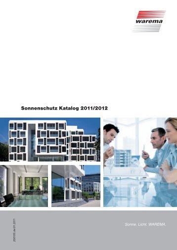 Sonnenschutz Katalog 2011/2012 - Finkeisen Sonnenschutz