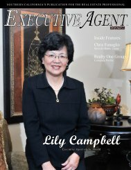 Cover Story Lily Campbell - Executive Agent Magazine