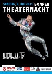 samstag, 9. juli 2011 - Bonner Theaternacht