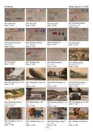 Postkarten Donnerstag, 01. 07. 2010