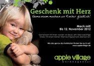 Geschenk mit Herz Gemeinsam machen wir Kinder ... - AppleVillage