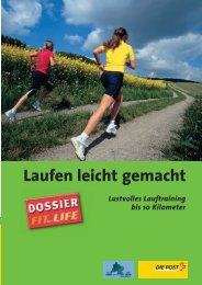 Laufen leicht gemacht - mobilesport.ch