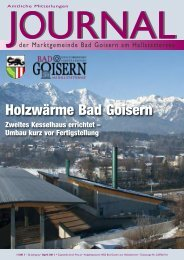 journal - Bad Goisern - Land Oberösterreich