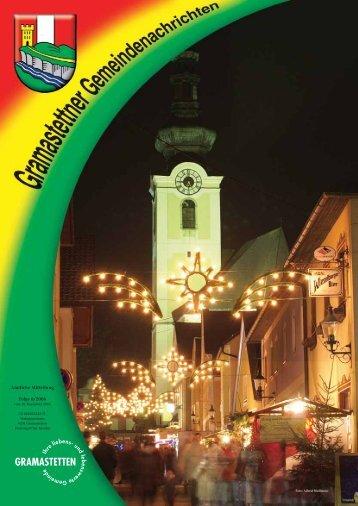 Amtliche Mitteilung Folge 6/2006 - Gramastetten - Land Oberösterreich
