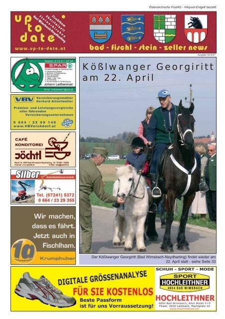 Kößlwanger Georgiritt am 22. April - Up-to-date