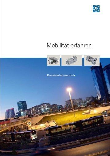Mobilität erfahren - ZF Friedrichshafen AG