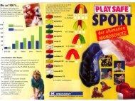 Play Safe Sport; der ultimative Mundschutz