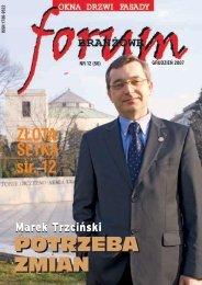 aluprof – lider absolutny - Forum Branżowe