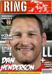 Magazyn Ring nr 13 - Sporty walki