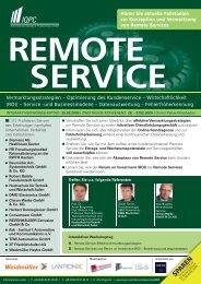 remote service - Weidmüller