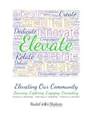 Elevating Our Community