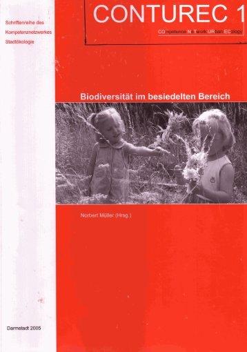 Biodiversität im besiedelten Bereich