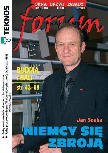 Najlepsze wĻaäciwoäci termoizolacyjne - 0,9 W/m 2 K - Forum Branżowe