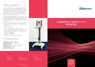 LASERNEEDLE-THERAPIE in der oRTHoPäDIE - AcuMax