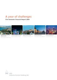 A year of challenges