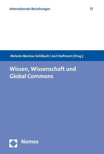 Wissen, Wissenschaft und Global Commons - Zum Nomos-Shop