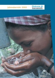 International Hilfe 2002 - Diakonie Katastrophenhilfe