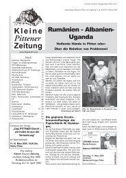 MftfsBriefe - Kleine Pittener Zeitung :: KPZ
