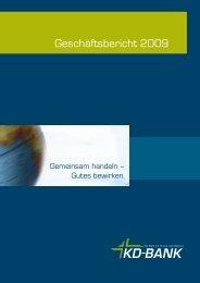 KD-Bank Geschäftsbericht 2009.pdf