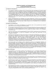 Allgemeine Verkaufs- und Lieferbedingungen - IMI Cornelius