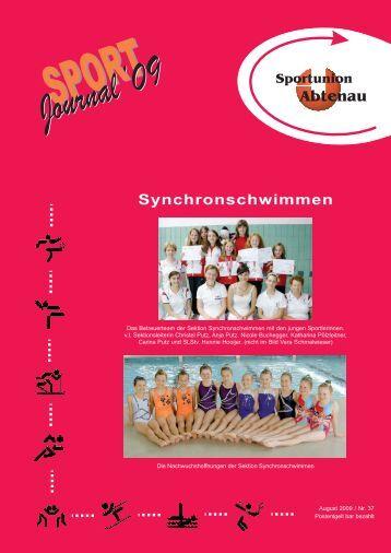 Journal 2009.qxd - Sportunion Abtenau
