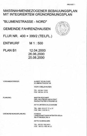 gemeinde fahrenzhausen - Landratsamt Freising