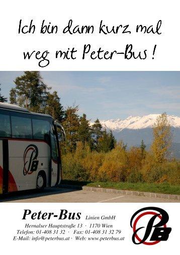 weg…………… - Peter-Bus