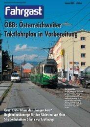 ÖBB: Österreichweiter Taktfahrplan in Vorbereitung - FAHRGAST ...