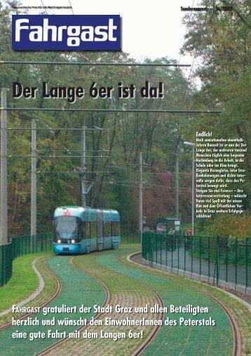 Der Lange 6er ist da! - FAHRGAST Steiermark