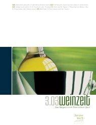 Weinzeit befragte zwei - Steirischer Wein / Die Marktgemeinschaft ...