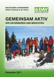 2012 Winter.pdf - Sektion Neuburg / Donau