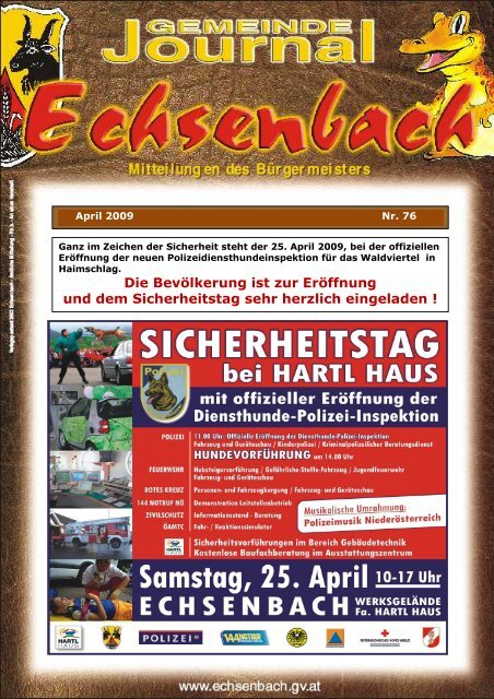 8,54 MB - Marktgemeinde Echsenbach
