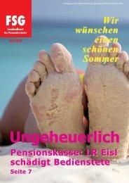 Pensionskasse - FSG GÖED Salzburg