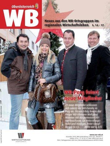 WB-Perg feiert neue Mitglieder