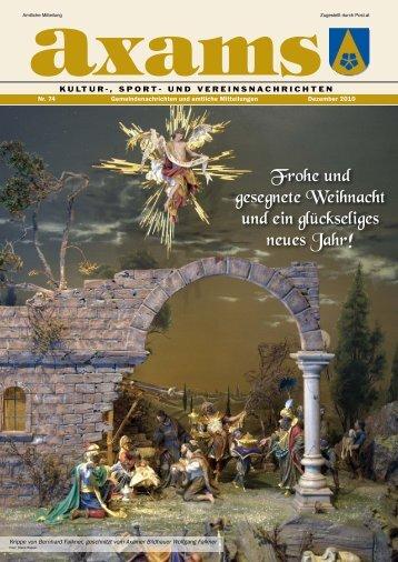 (7,09 MB) - .PDF - Gemeinde Axams - Land Tirol