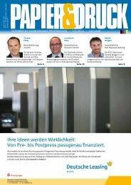 österreichs unabhängiges printmagazin • 7-8/2010 ... - Papier & Druck