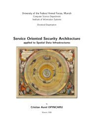 Service Oriented Security Architecture