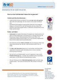 Rund um den Schilderwald: Haben Sie es gewusst? - R+V24