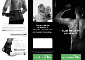 Support when you need it - Mediroyal