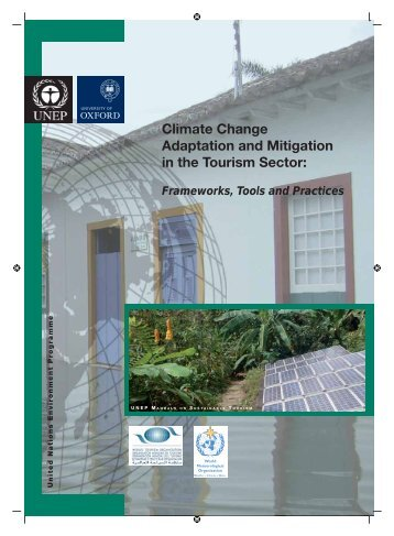 Climate Change Adaptation and Mitigation in the Tourism Sector