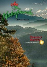 FREIZEIT AKTUELL FREIZEIT AKTUELL - Naturfreunde KÄRNTEN