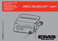 SWISS DOLORCLAST® smart - EMS - Electro Medical Systems