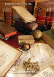 Wenn einer eine Reise tut ... - Brockhaus Antiquarium