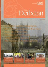 The Derbeian Featured Articles Autumn 2020