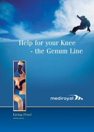 Help for your Knee - the Genum Line - Ortosupport