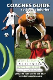 table of contents - Active Lifestyle Institute Mountain Home