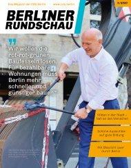 Berliner Rundschau digital I Ausgabe 4/2020